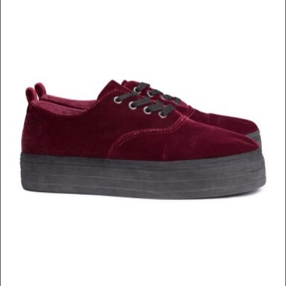 b90359174fee H M Shoes - Platform Sneakers